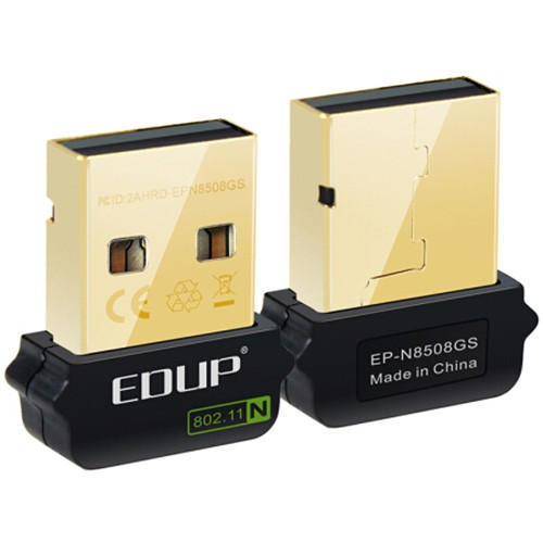 EDUP EP - N8508GS 150Mbps Mini USB Wireless LAN Card Portable WiFi Receiver Network Adapter