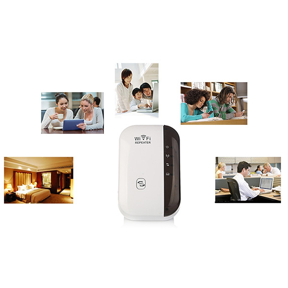 IP514 2.4GHz WiFi 300Mbps Wireless Network Extender Receiver