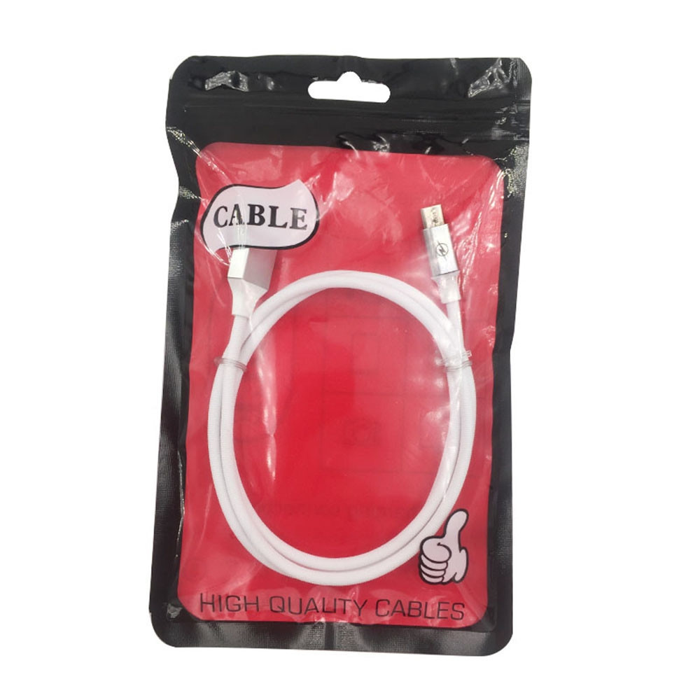 1M Nylon Micro USB Charger Data Cable for Android Fast Charge Wire