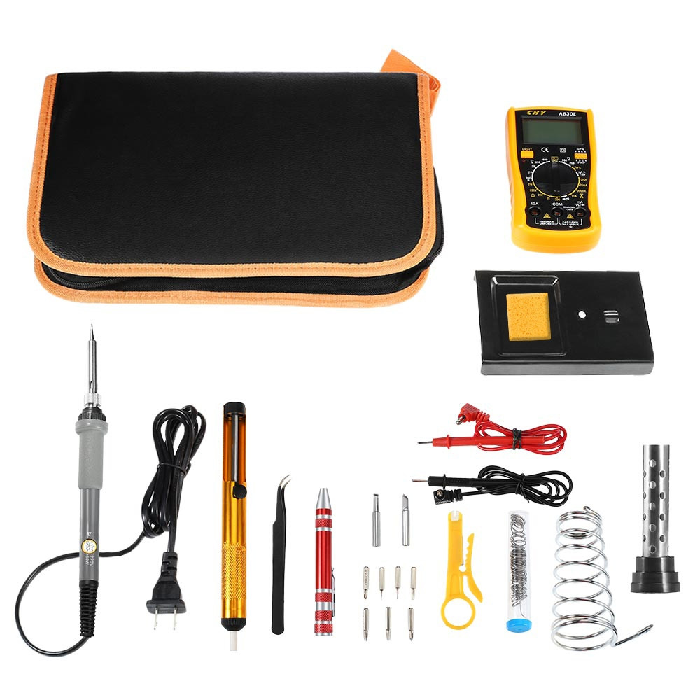 D60 Electronic Soldering Iron Kit with Temperature Control
