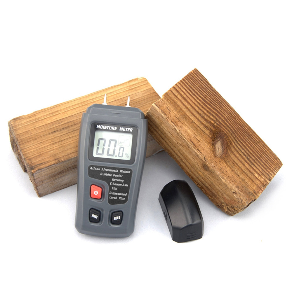 BSIDE EMT01 Wood Moisture Meter with LCD Reading Display