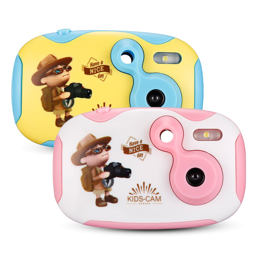 GBTIGER 1080P Mini Cute Kids Digital Camera with 1.44 inch Full Color Display