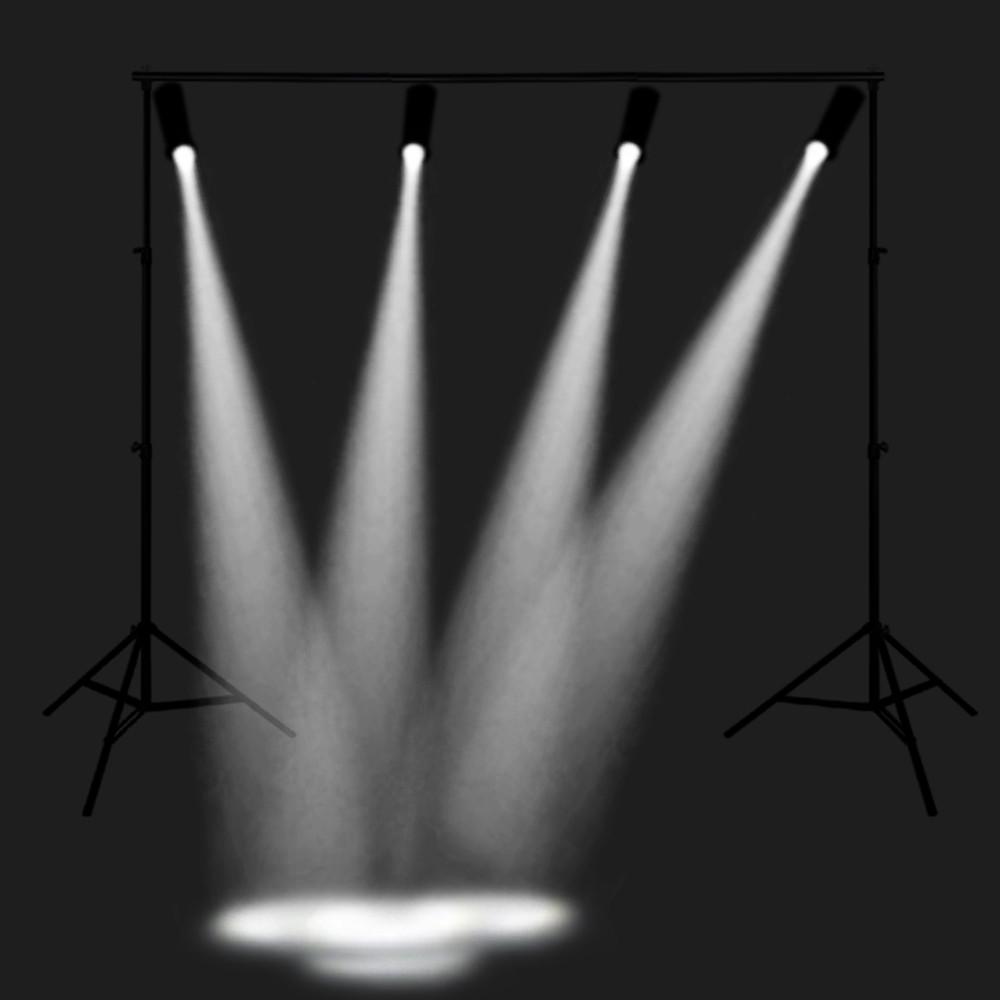 3W Mini LED Spot Light Stage Lighting Projector Lamp WHITE LIGHT EU PLUG