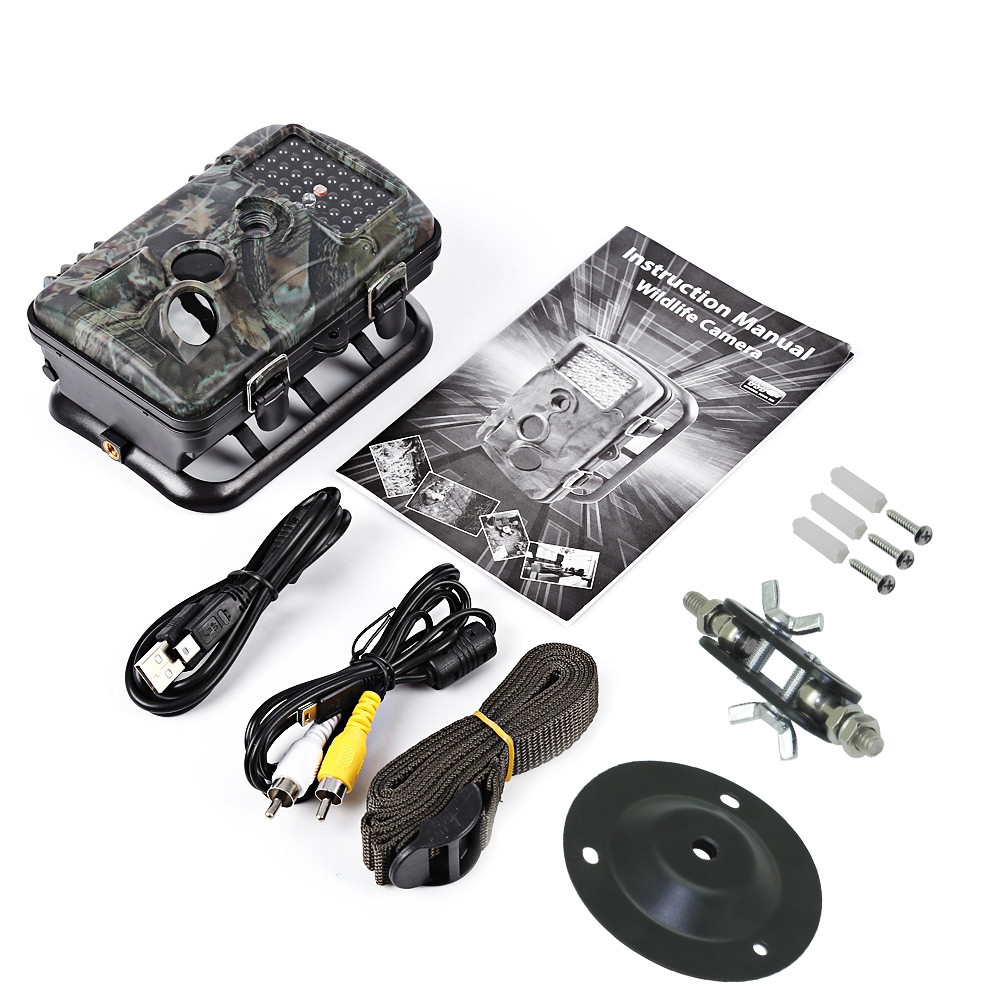 RD1000 42pcs 940nm IR LED 1080P FHD Waterproof Motion Detection Outdoor Hunting Trail Camera
