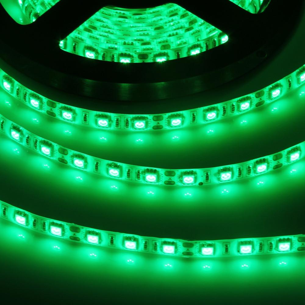 5 Meters 300 SMD 5050 LEDs Strip Light 72W Ribbon Lamp GREEN