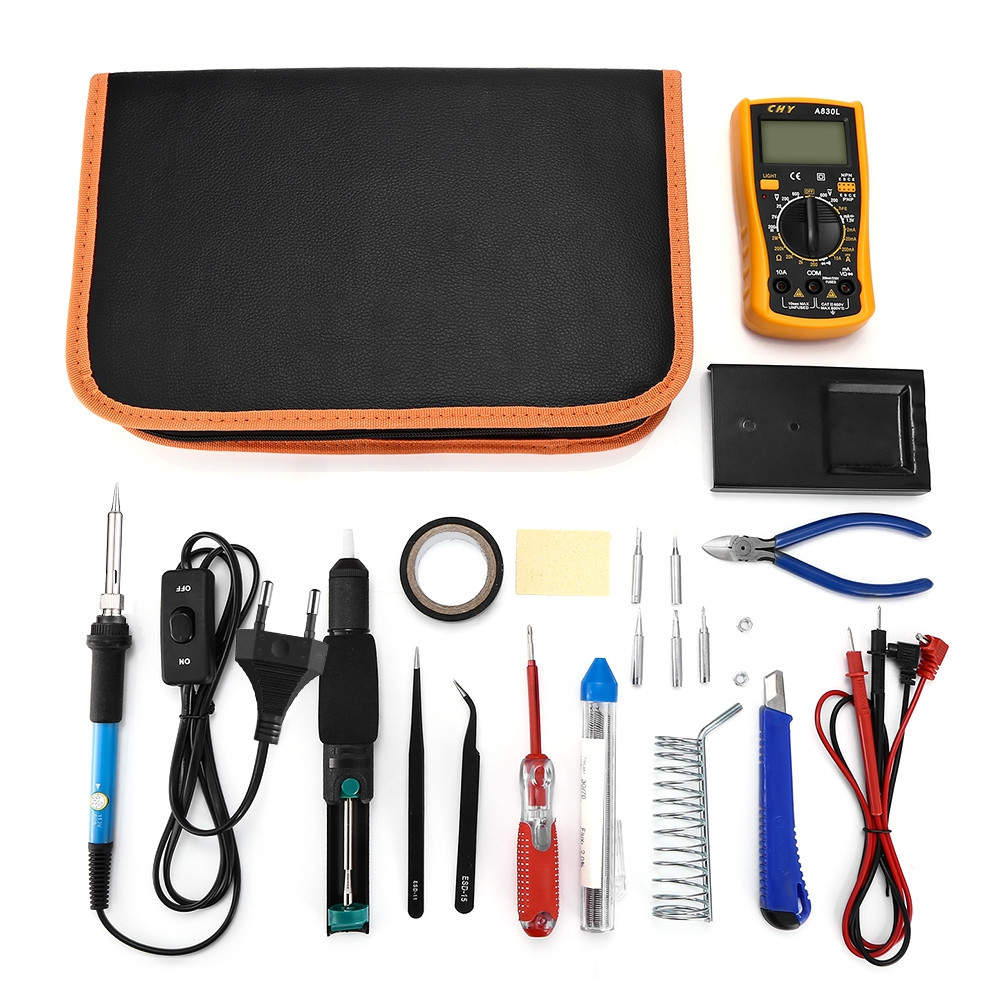 9160 23 in 1 Multi-use Soldering Iron Tools Set for Various Electronic Devices