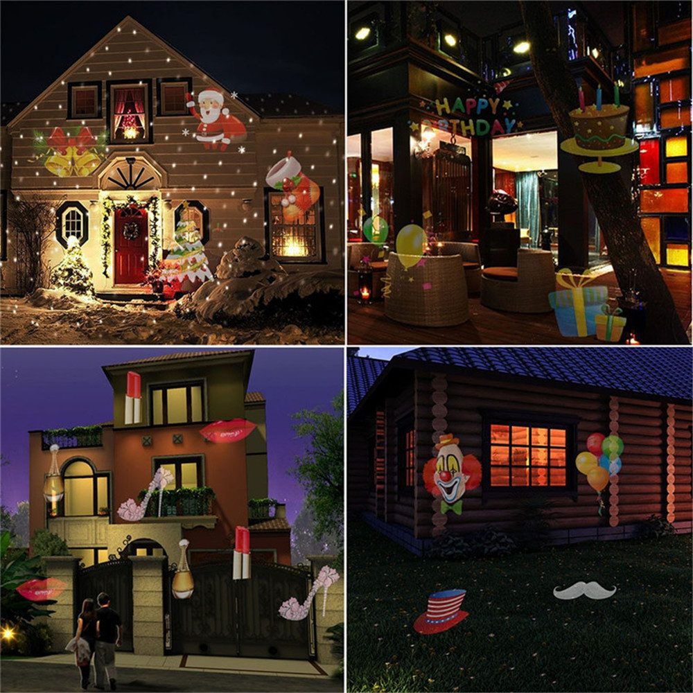 SUPli Halloween Outdoor Laser Light LED Rotating Projector for Festival Party  BLACK UK