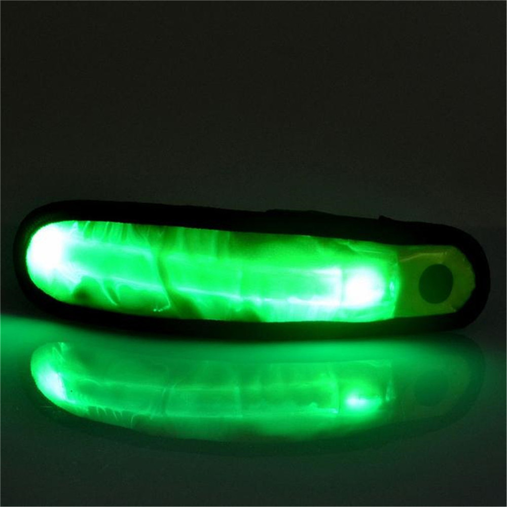 YWXLight LED Sports Armband Running Light Flashing Safety Light for Jogging or Cycling GREEN