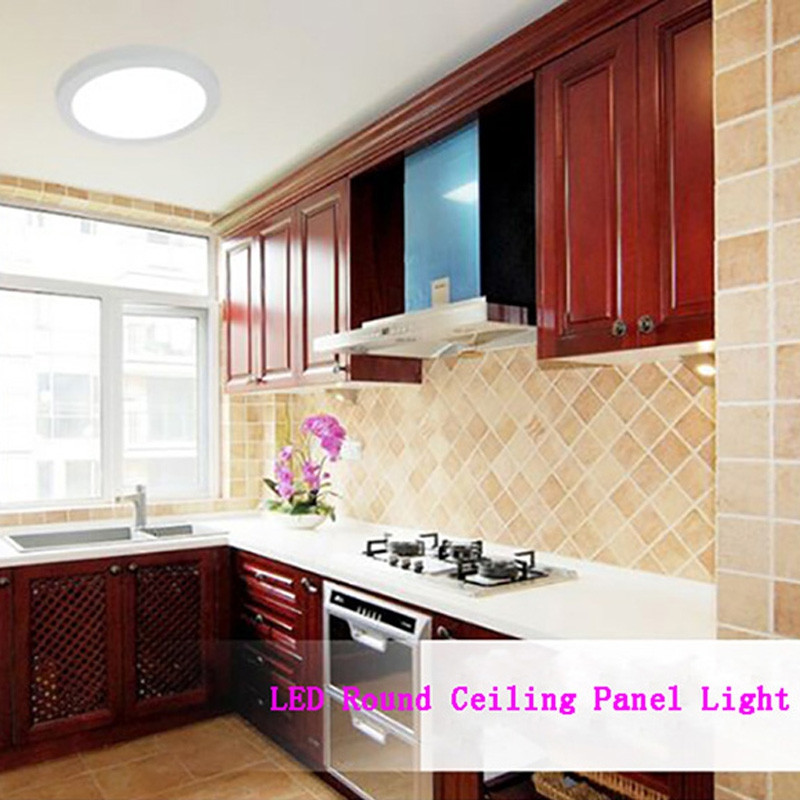 Jiawen LED Panel Light 24W Round Mounted LED Ceiling Lights AC 85 - 265V COOL WHITE LIGHT