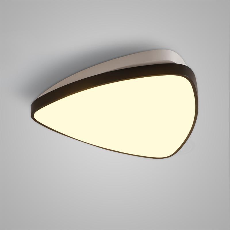 Creative Geometric Modern Home LED Ceiling Light  WHITE AND BLACK 220 - 240V