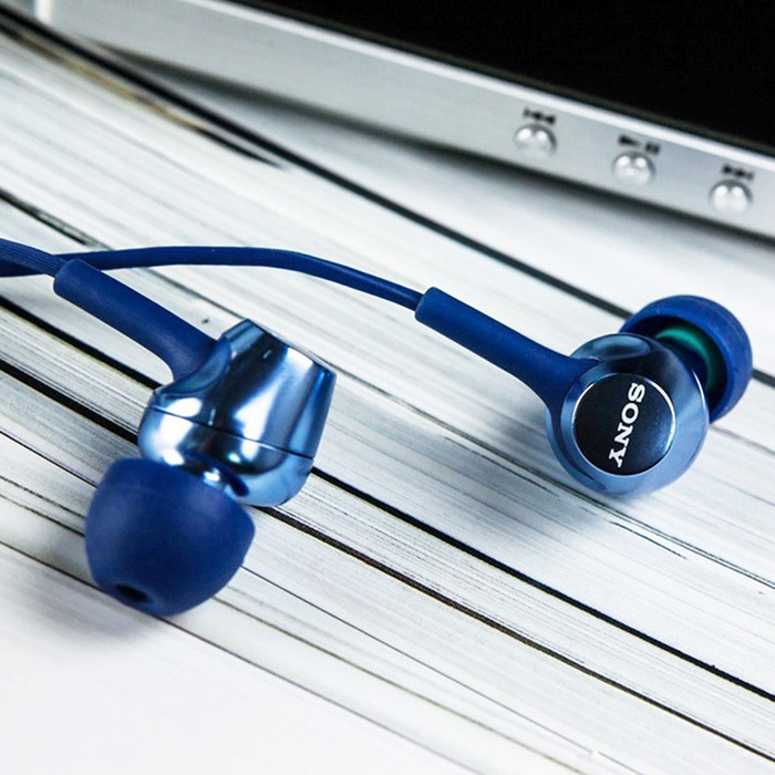 Sony EX250AP Universal In-ear Earphone Wired Stereo Earbuds with Mic and In-line Control