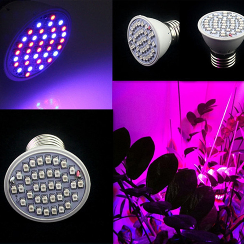 36 LED  Plant Grow Lamp WHITE