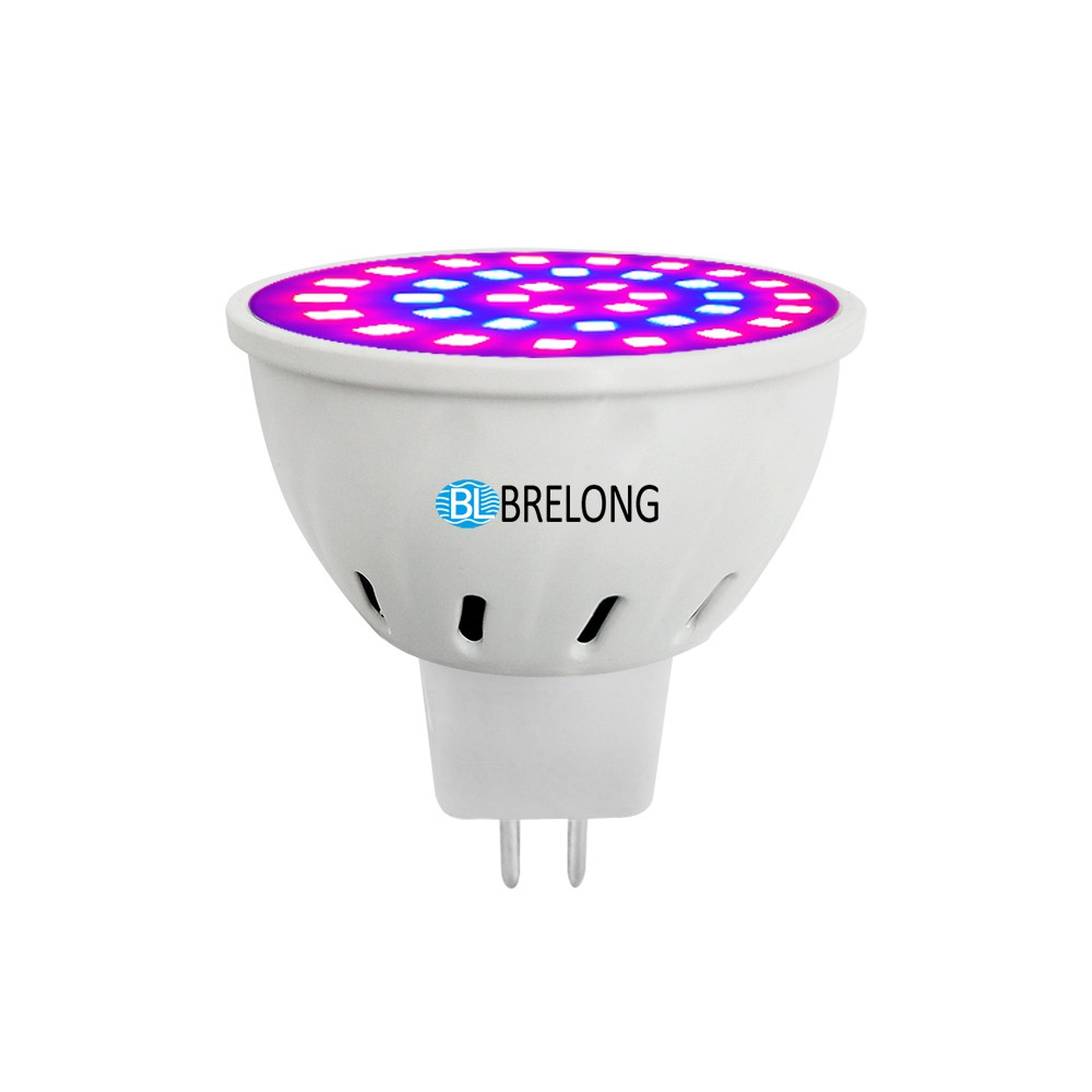 BRELONG E27 E14 GU10 MR16 36LED 2835 Plant Cup Light 110-130V 1pc WHITE E14
