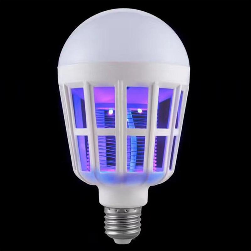 Bulb Electric Trap Mosquito Killer Light WHITE