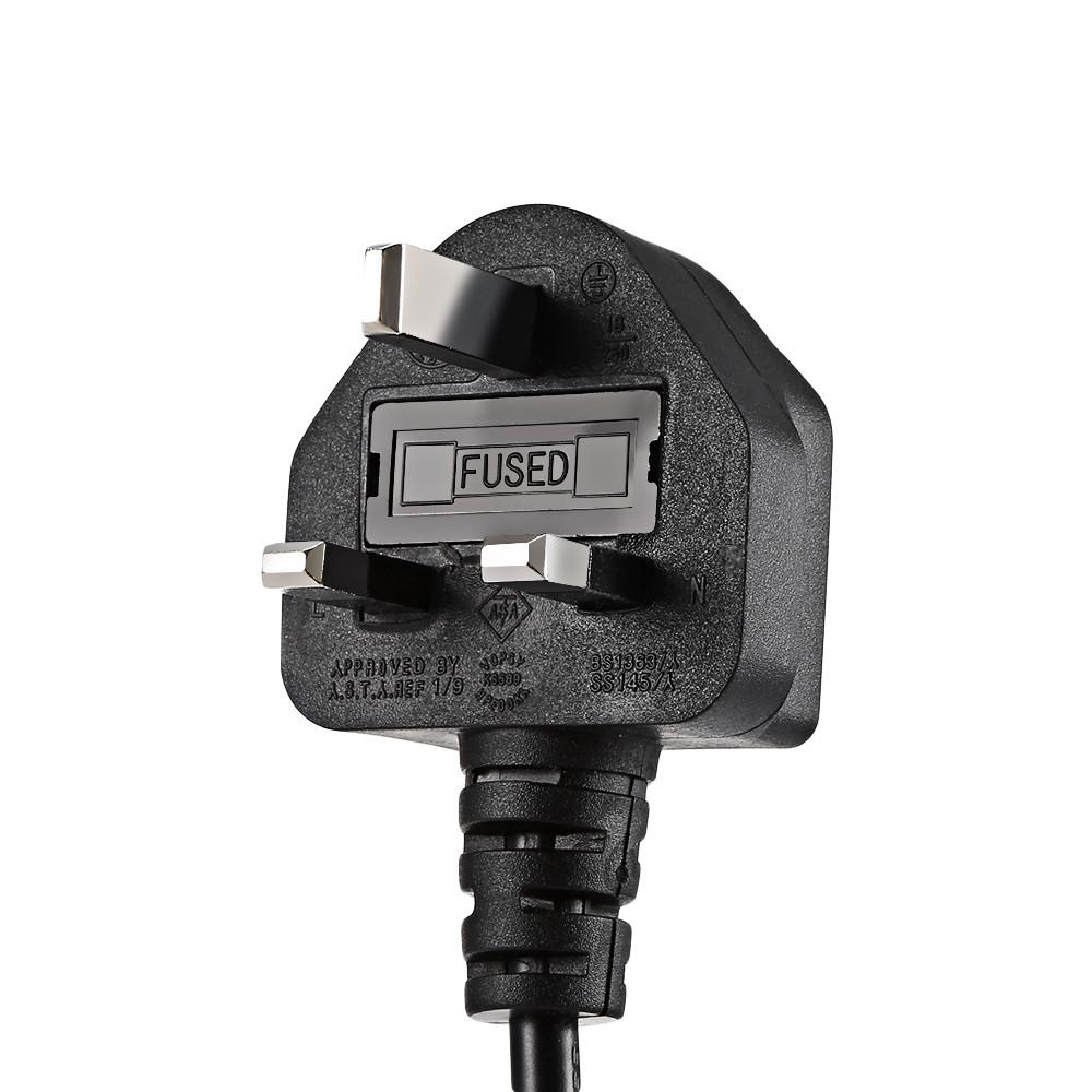 HP005 / 4A - M RGBW 12 LEDs Par Light Stage Lamp with Remote Controller BLACK UK PLUG