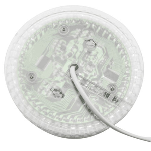 BRELONG BG - 304 RGB Sound Control Rotating Stage Light TRANSPARENT US PLUG