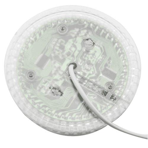 BRELONG BG - 304 RGB Sound Control Rotating Stage Light TRANSPARENT EU PLUG
