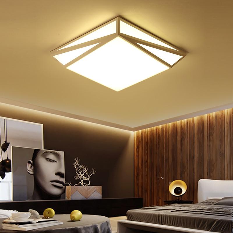 24W LED Ceiling Light Flush Mount Lamp AC110V WHITE 6000-6500K