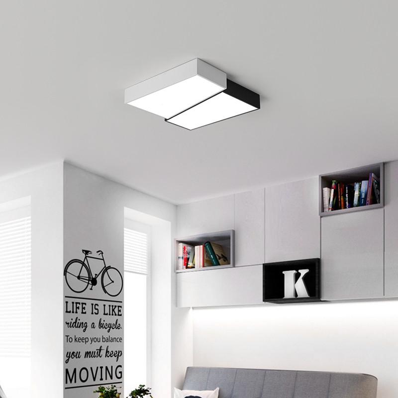 32W Modeern LED Ceiling Light Flush Mount Lamp for Dining Living Room 110V MULTI-B 6000-6500K