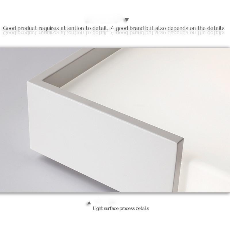 32W Modern LED Ceiling Light Flush Mount Lamp for Bedroom Dining Room 110V WHITE 6000-6500K