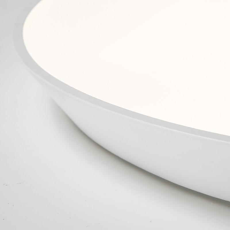 24W Modern LED Ceiling Light Sumper Thin Flush Mount 110V WHITE 2700K-3000K