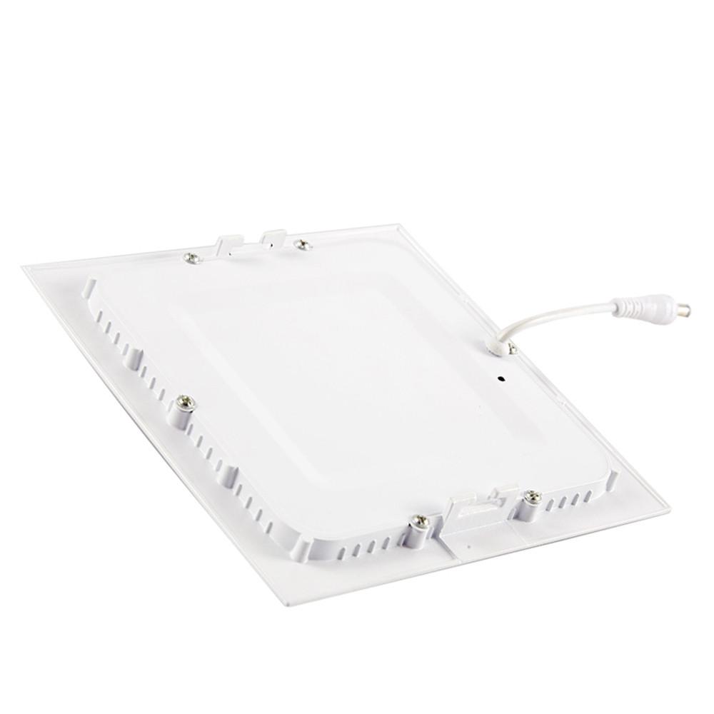Square Shaped Ultra-thin Panel LED Panel Light AC85-265V COOL WHITE 6W