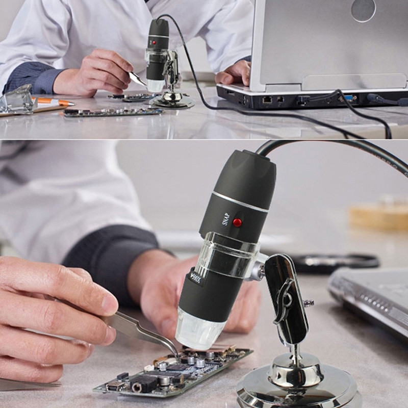 1600X Digital Microscope with Measurement for Mobile Phone Computer Tablet
