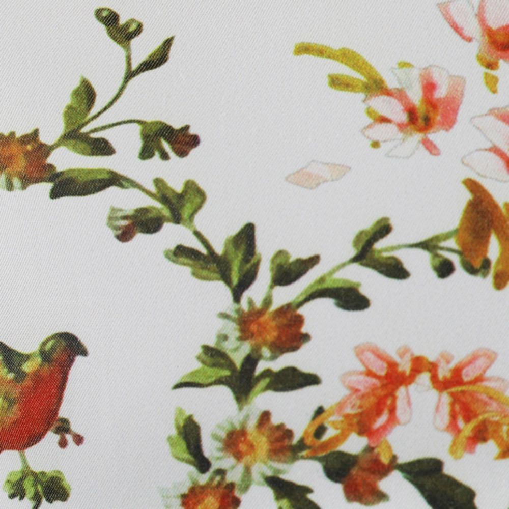Floral Digital Print Long Sleeve Shirt MULTI XL