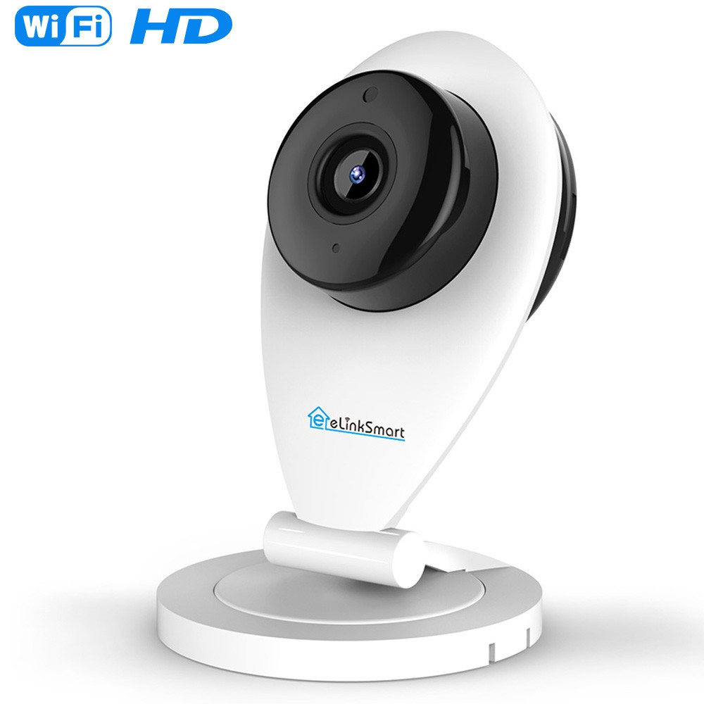ELinkSmart WiFi Mini Indoor Camera  for Home Security Baby Care and Crying Detec