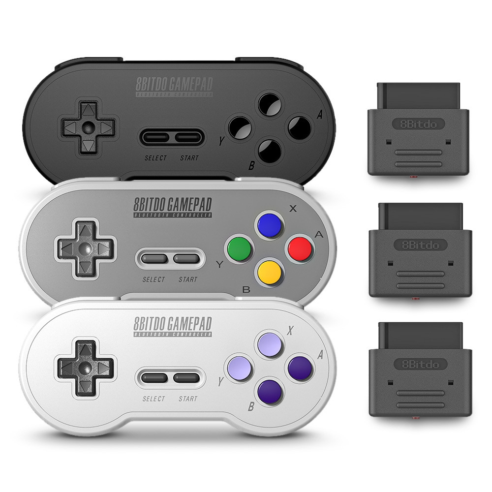 8Bitdo SN30 SN Version Retro Wireless Controller Gamepad with Bluetooth Receiver