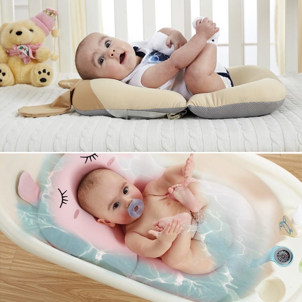 Lovely Baby Bath Mat Anti-slip Ridge Protection Pad ROYAL BLUE