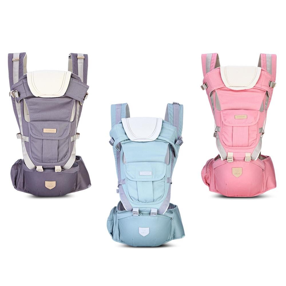 Bethbear 0 - 36 Months Baby Carrier Ergonomic Sling Backpack GRAY