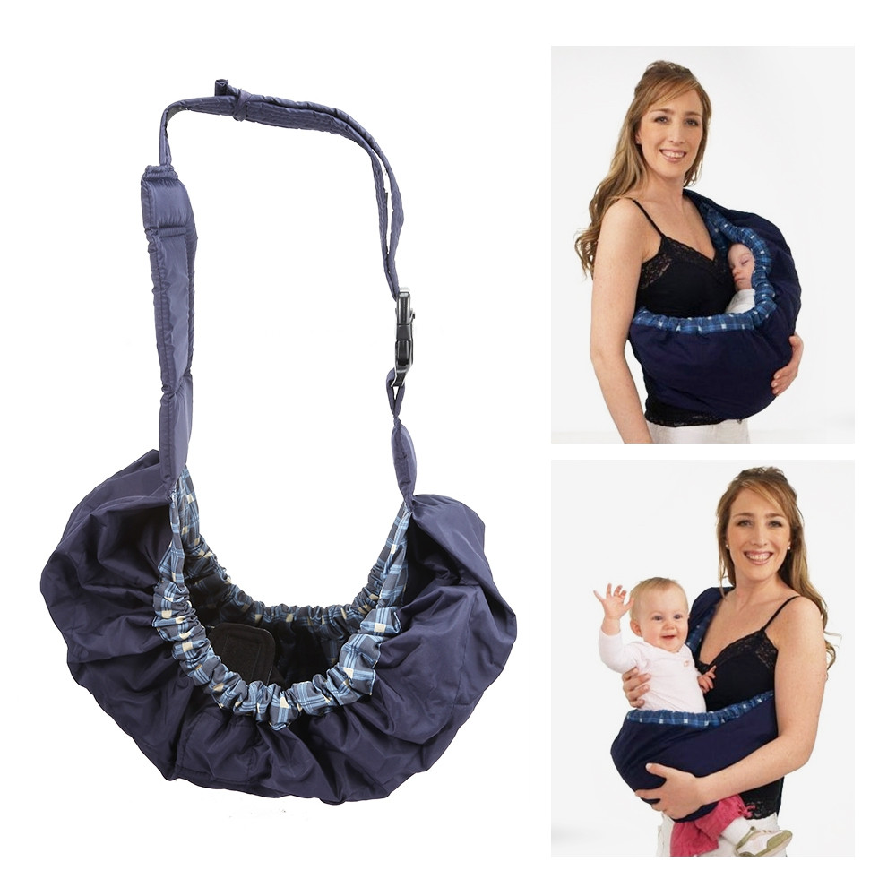 Infant Carrier Bag Cradle Sling Wrap Nursing Pouch COLORMIX #1