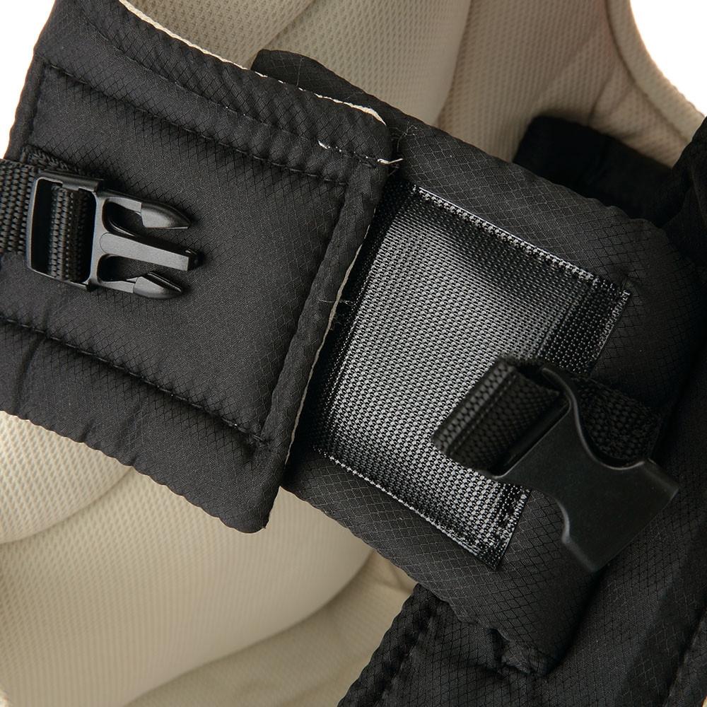 Multifunctional Portable Ventilate Adjustable Buckle Stick Baby Carrier Backpack KHAKI