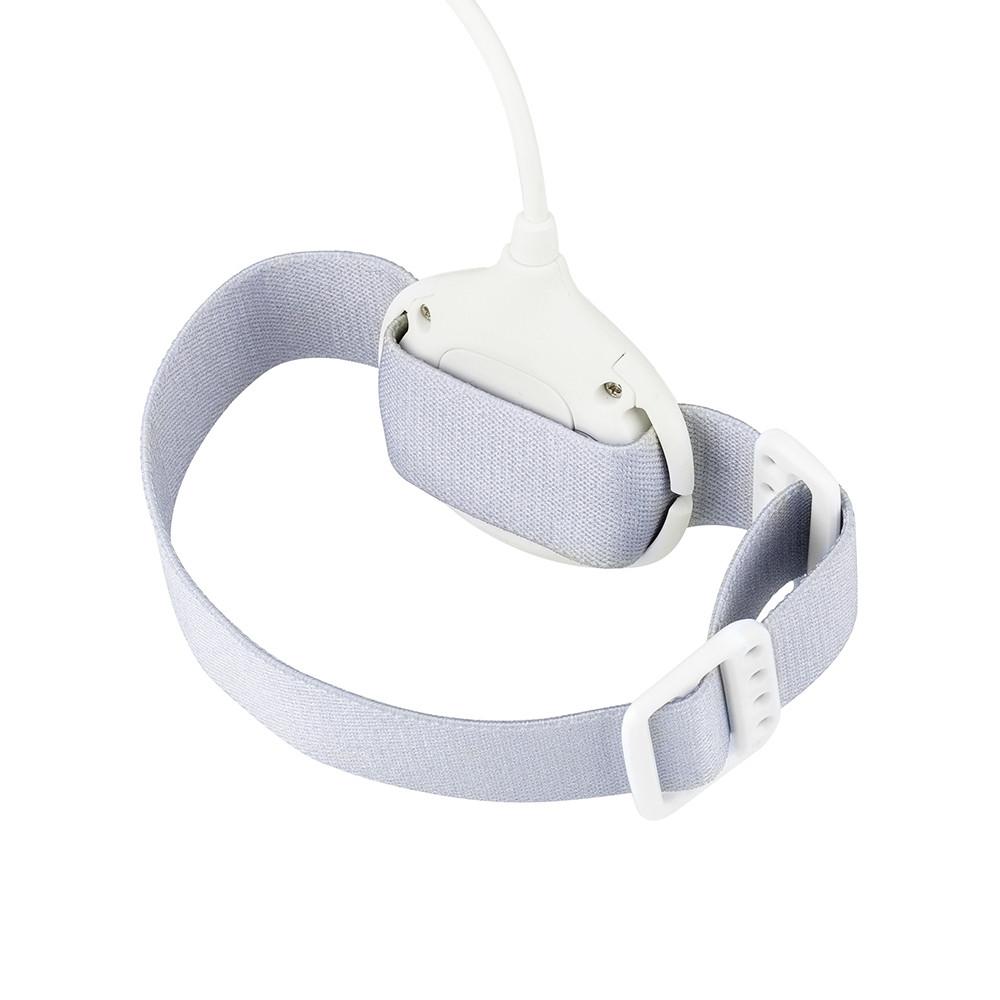 Beierle Bedwetting Sensor Alarm Wet Reminder for Baby Kids WHITE