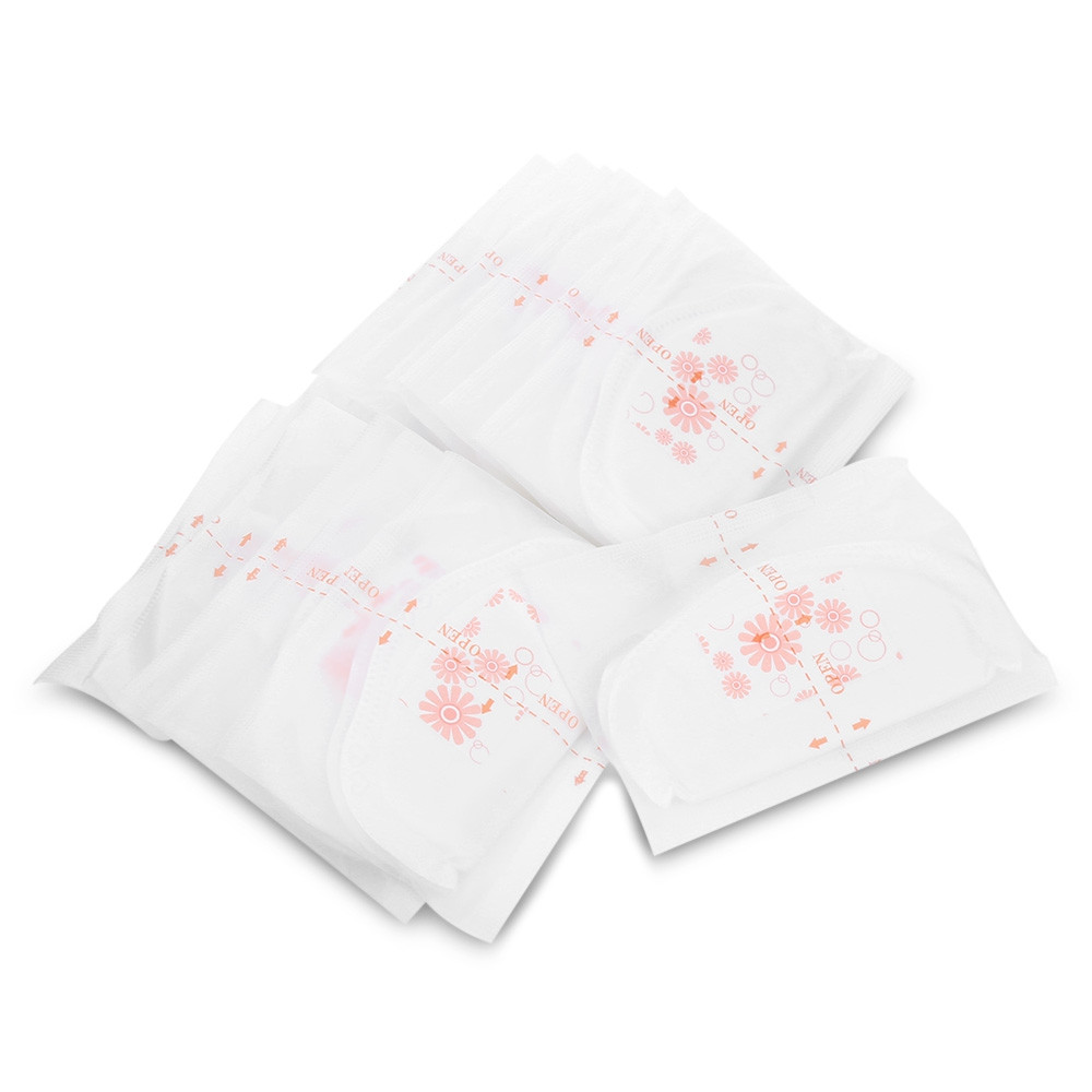 Cmbear 108pcs Ultra Soft Disposable Breathable Anti-spill Breast Nursing Pads WHITE