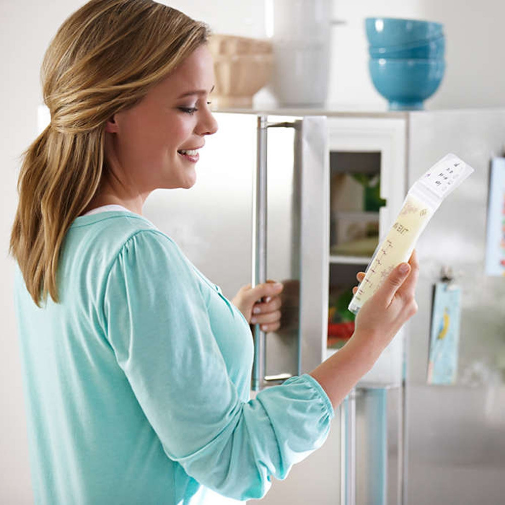 Philips Avent 25pcs Baby 6oz / 180ml Breast Milk Storage Bag WHITE