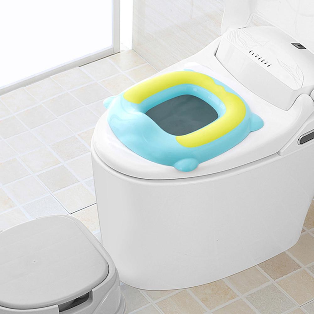 Babyyuga Children Toilet Ring Potties Seat Chamber Pots CLOVER GREEN