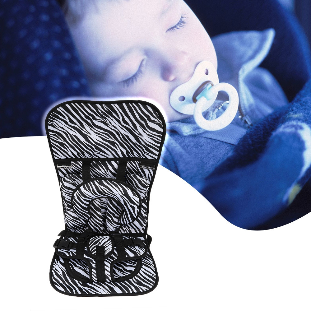 Portable Baby Kids Safety Car Seat Children Harness BLACK