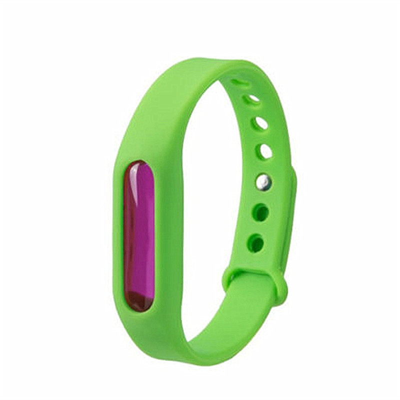 Mosquito Repellent Bracelet for Kids Adults  Natural Anti SLIME GREEN