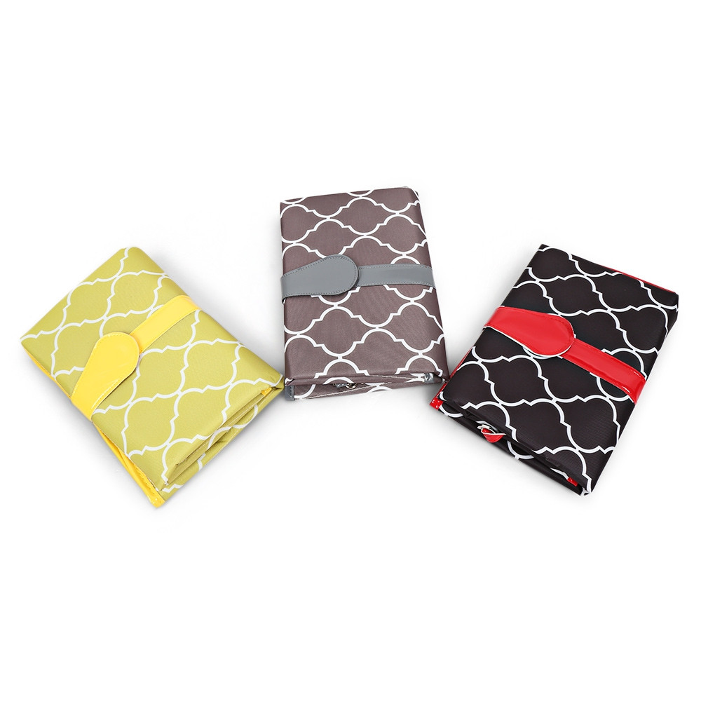 Baby Portable Water-resistant Full Body Diaper Changing Pad Folding Mat  GRAY