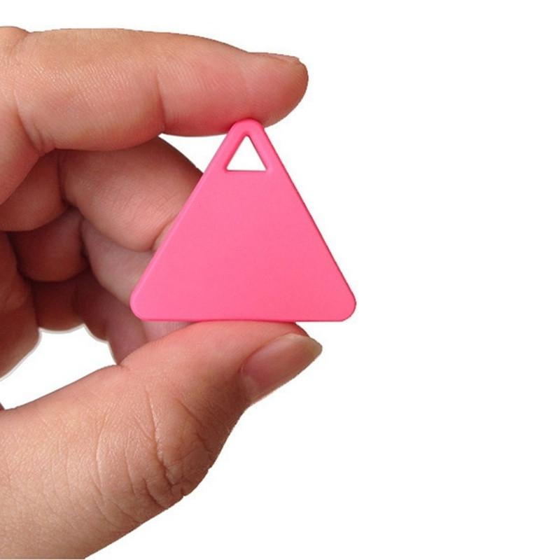 Wireless Bluetooth Anti-lost Anti-Theft Alarm Device Tracker GPS Locator Key/Dog/Cat/Kids/Wallets Finder PINK