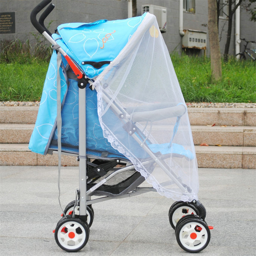 Baby Buggies Mosquito Nets Universal Cart Nets Fit Most Models WHITE