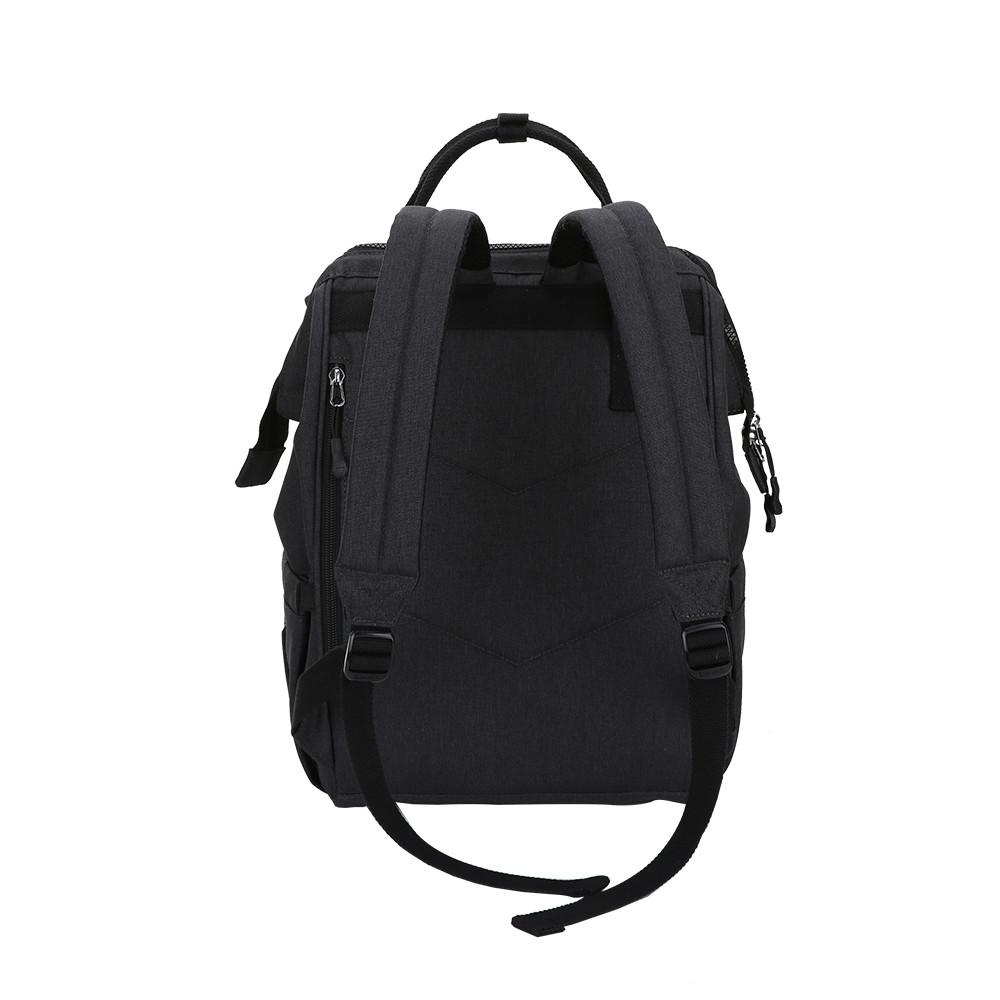 OIWAS Mommy Backpack Large Capacity Waterproof Lightweight Diaper Bag BLACK