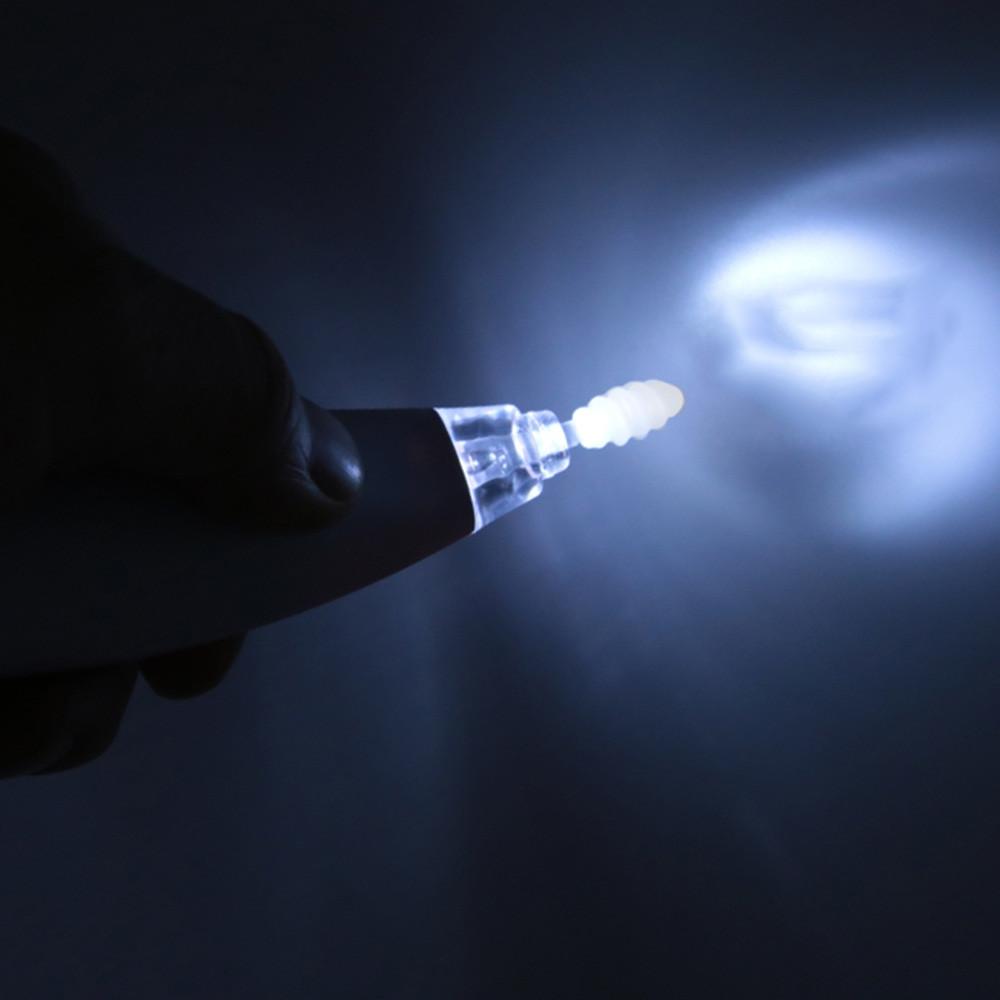 Penguin Shape Electric Glowing Ear Spoon PINK