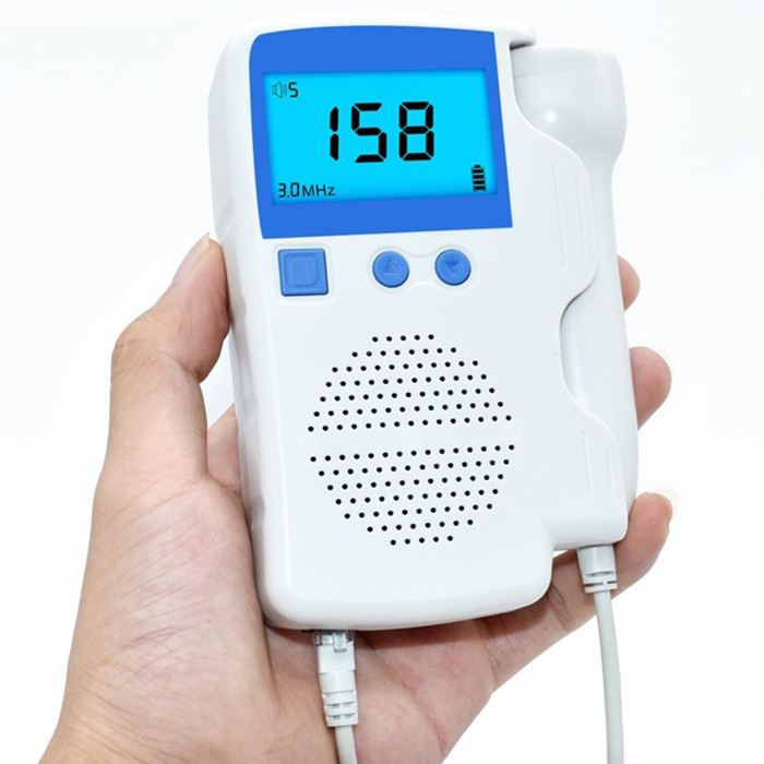 AOJ AOJ - 50B Household Digital Fetal Doppler WHITE