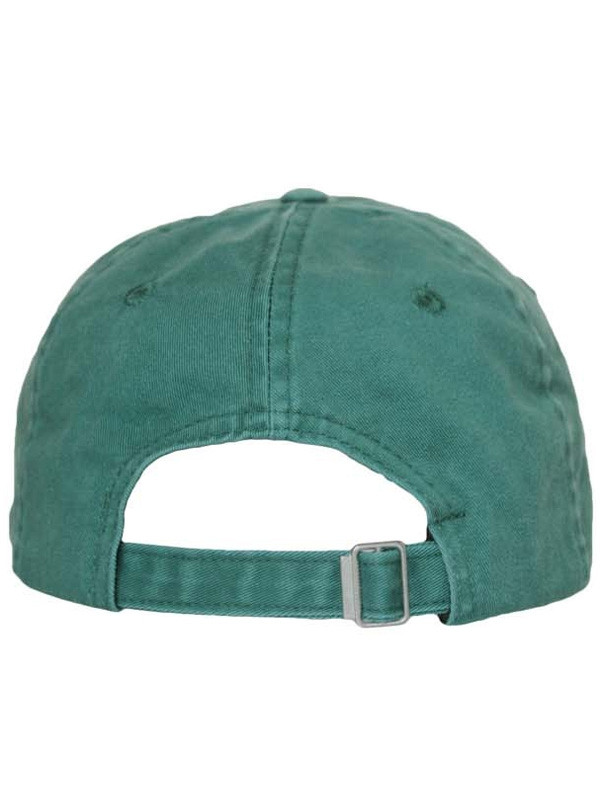 Curved Brim Casual Lucky Baseball Hat DEEP GREEN