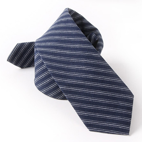 Slender Twill Pattern 6.5CM Width Tie DEEP BLUE