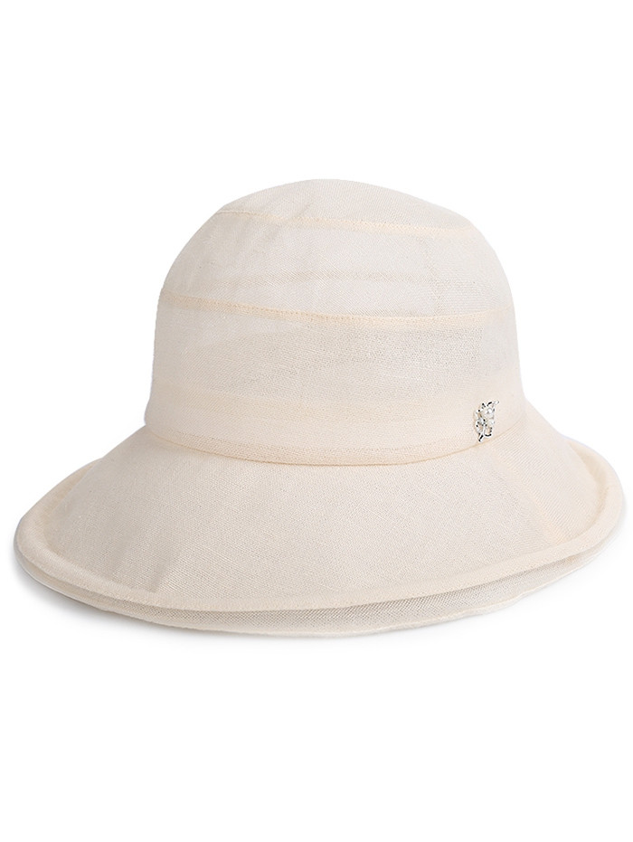 Anti UV Wide Brim Summer Holiday Hat  BEIGE