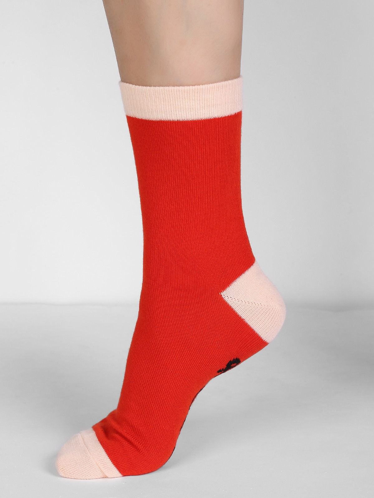 PLEASE BRING ME WINE Winter Crew Socks RED